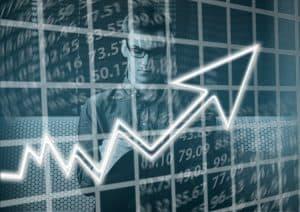 גרף מניות