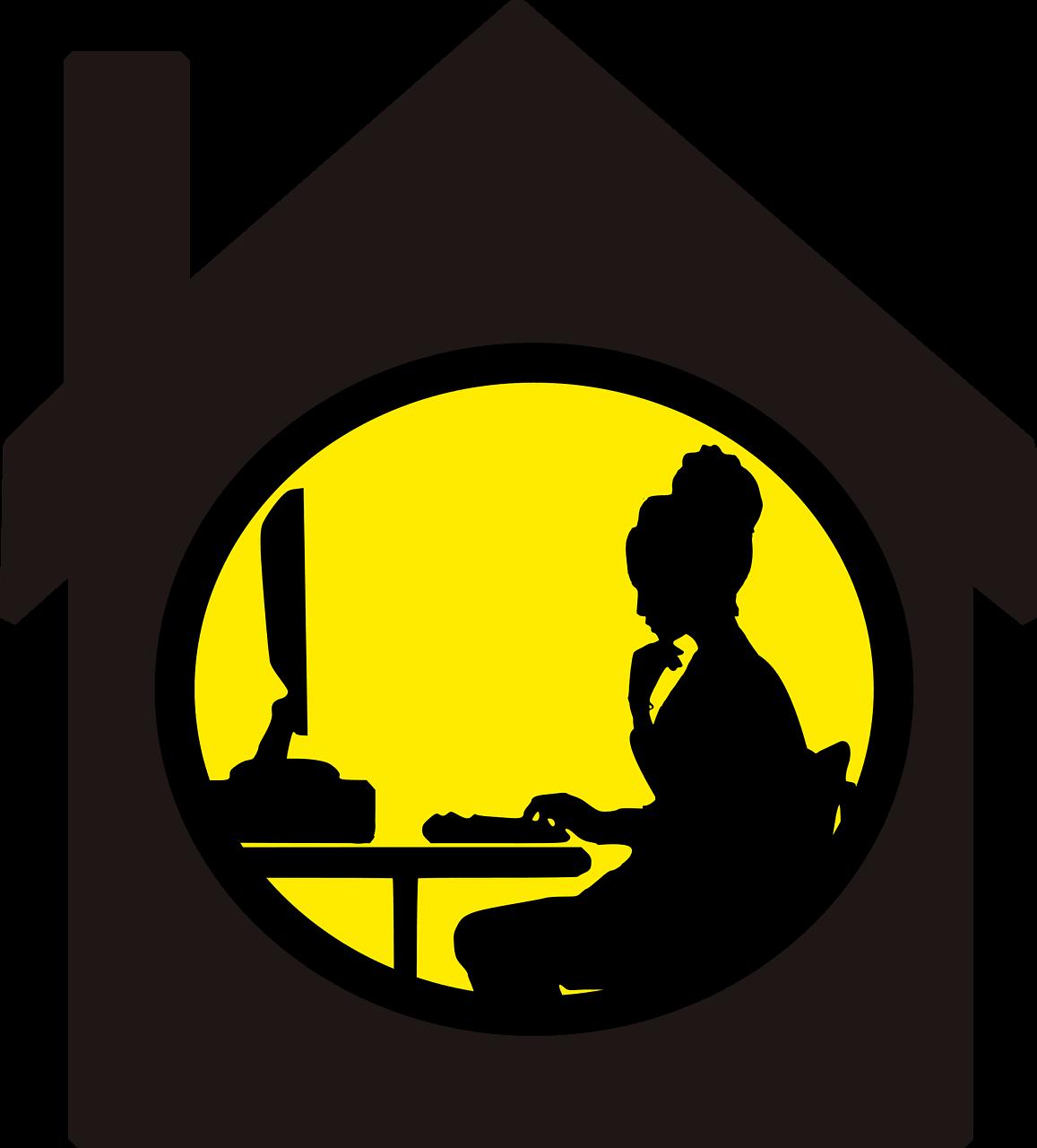 עבודה במרחב בבית