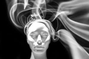 פרצוף של אישה